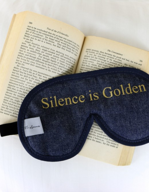 Men's Denim Sleep Mask