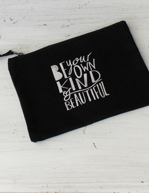 Make Up Bag Be Your Own Kind of Beautiful