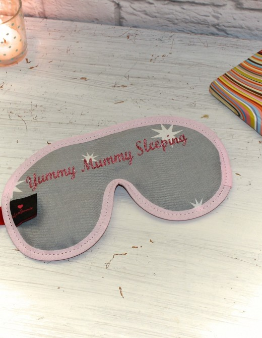 Luxury Sleep Mask with Lavender Yummy Mummy Sleeping
