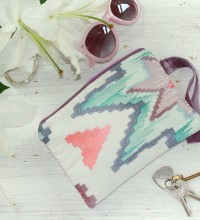 Artisan Embroidered Clutch Bag