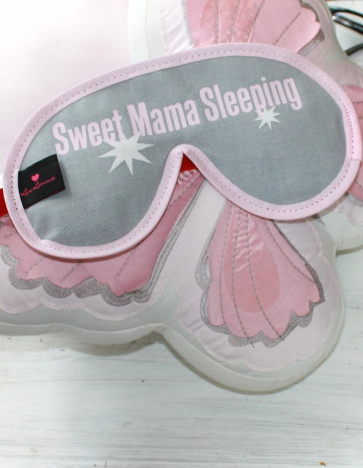 Luxury Sleep Mask with Lavender Sweet Mama Sleeping