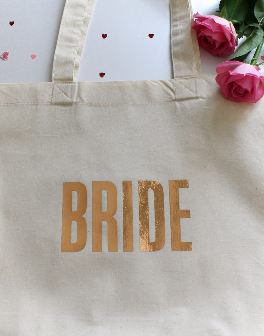 Wedding 'Bride' Tote