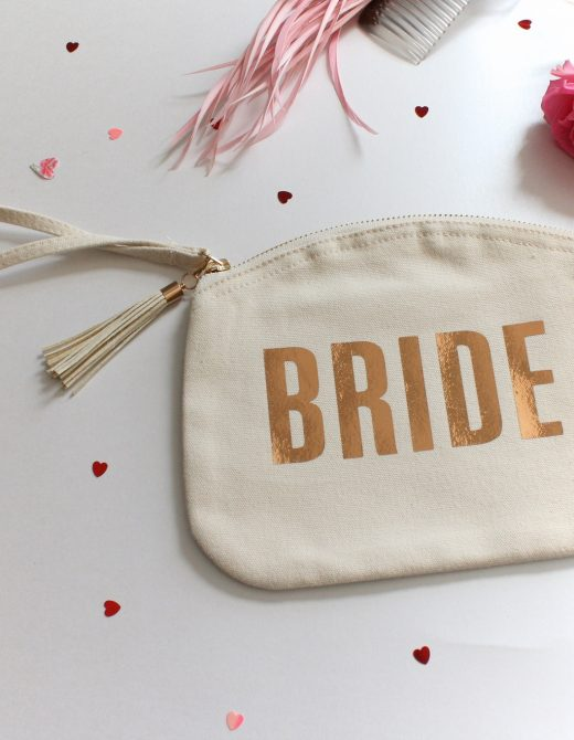 Wedding 'Bride' Clutch Bag