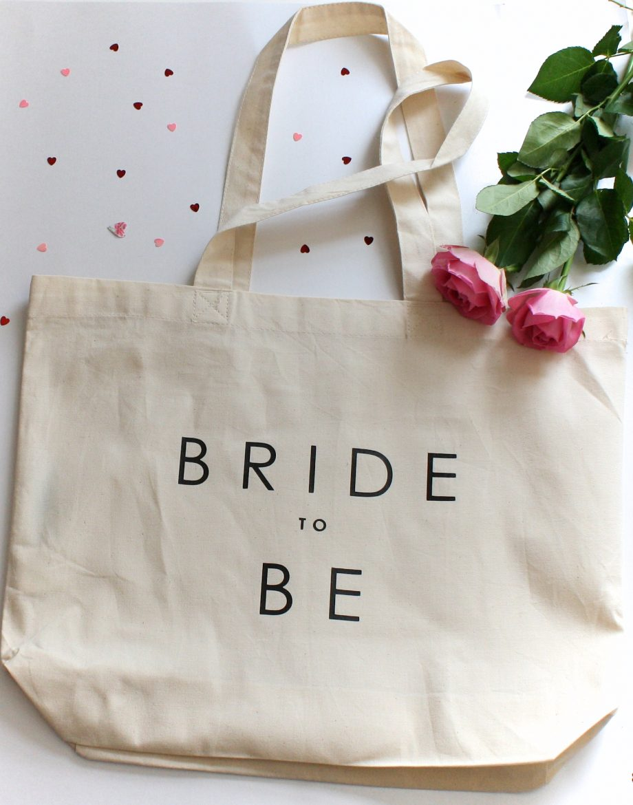 Wedding 'Bride to Be' Tote