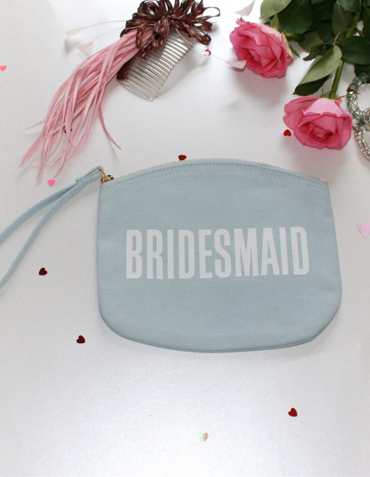 Wedding 'Bridesmaid' Clutch Bag