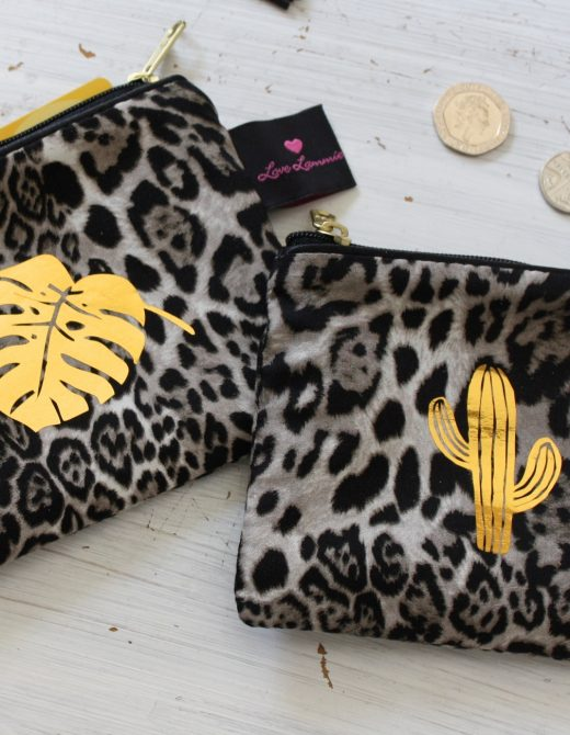 Animal Print Coin Purse