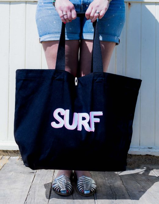 Canvas-Beach-Bag-Surf-Print