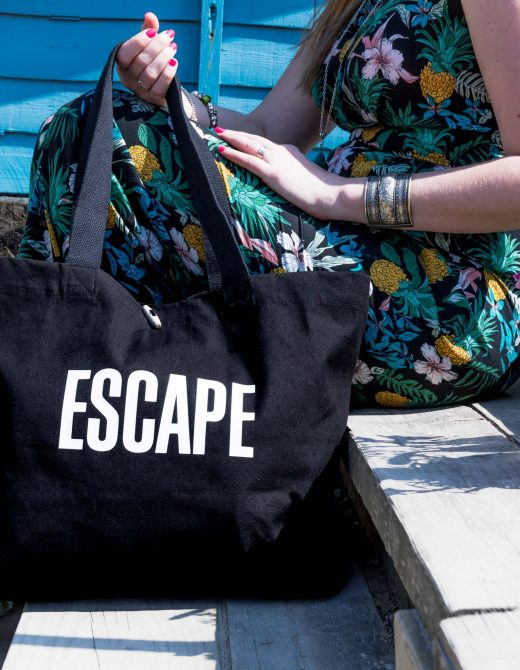Canvas-Beach-Bag-Escape-print