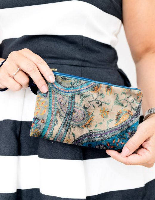 Luxury Velvet Clutch Bag