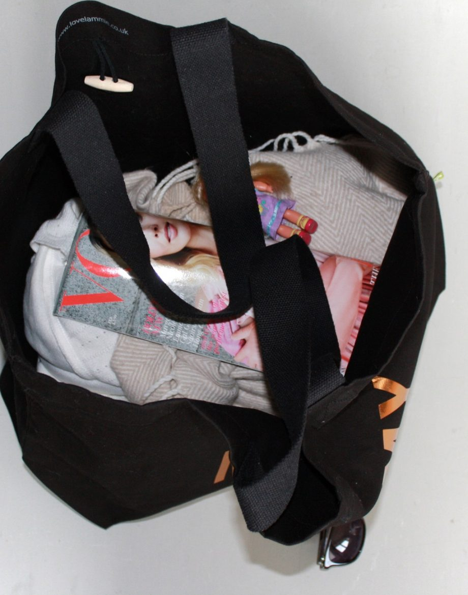 Yummy-Mummy-Black-Tote-Bag