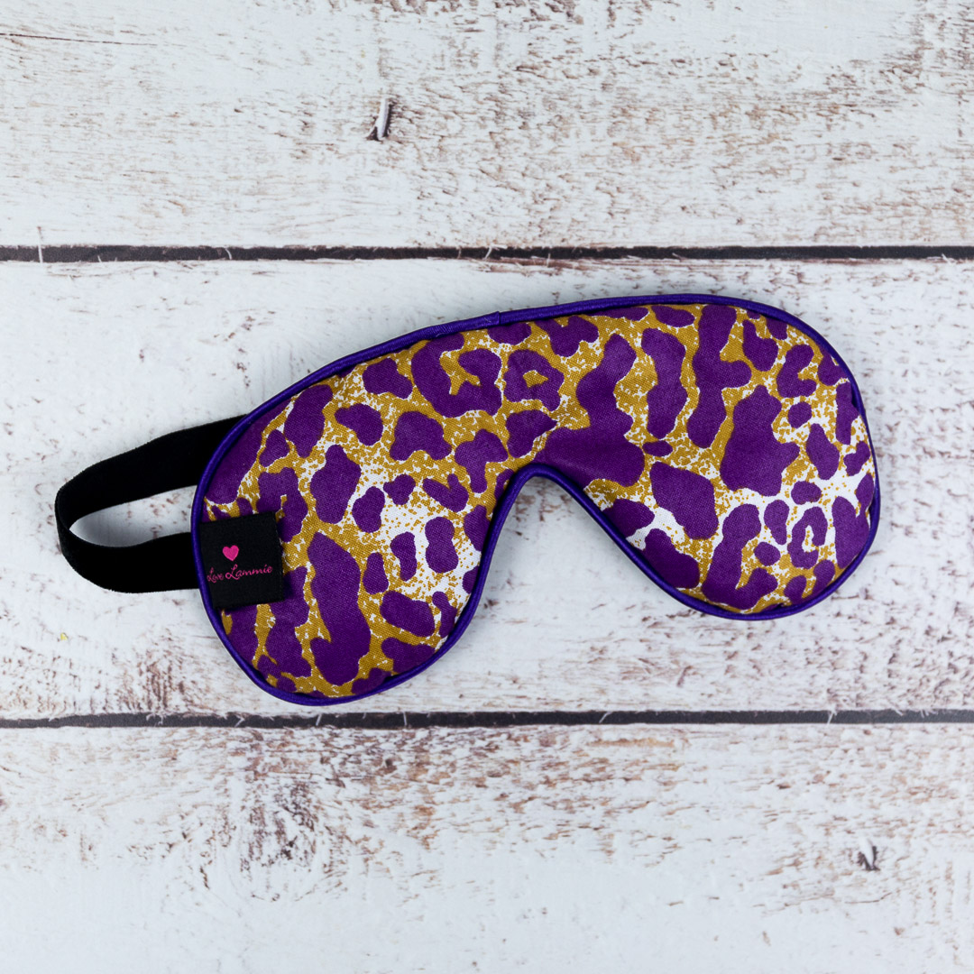 Leopard Print Eye Mask