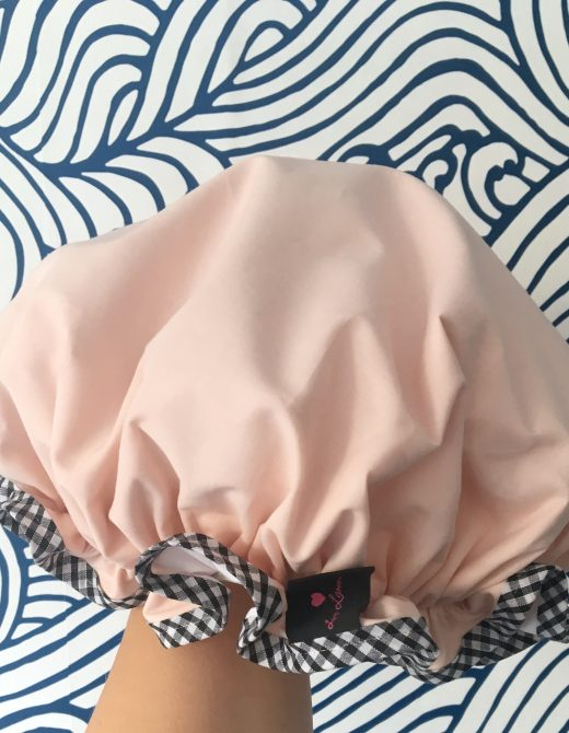 LL&CO-Blush-Pink-Shower- Cap