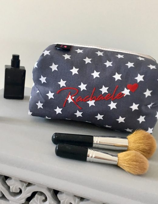 LL&CO-Grey-Star-Personalised-Boxy-Wash-Bag