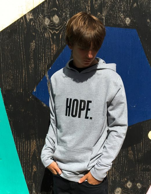 LLR-HOPE-GREY-Hoody-Front