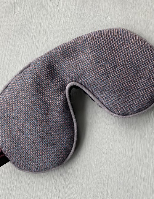 Recycled Plastic Bottle Fabric Sleep Mask with Lavender