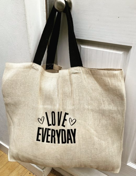 Love-Everyday-Jute-Oversized-Tote-Bag