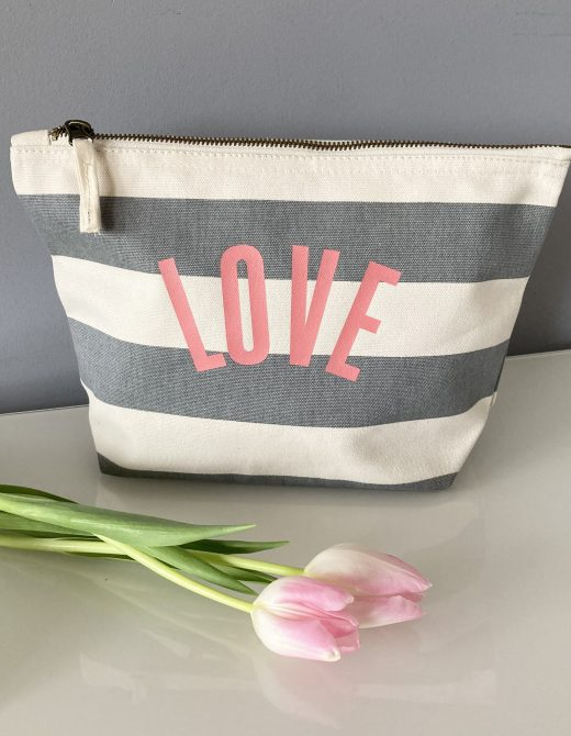 love-grey-stripe-beauty-bag