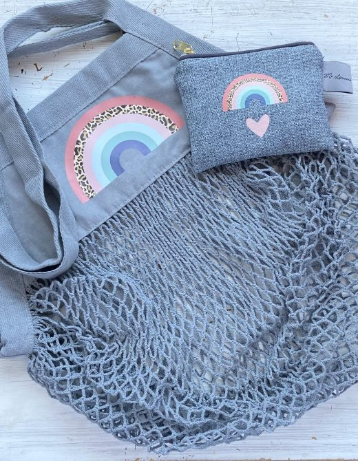 Grey-String-Bag-and-Purse-Set